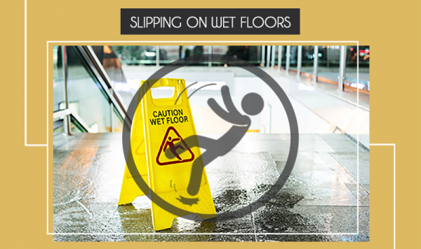 Slipping On Wet Floors