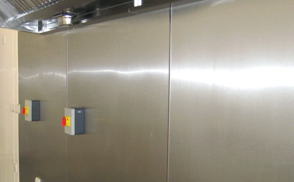 PVC Impact Resistant Hygienic wall cladding sheets - CK Direct