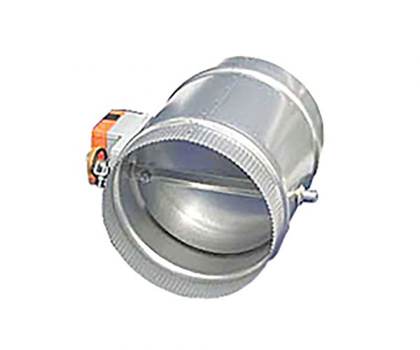 Air Dampers with Actuators