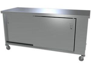 Roll Under Hot Cupboard