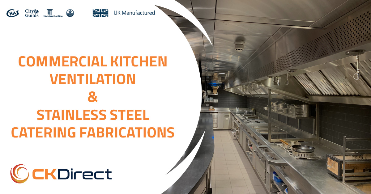Commercial Kitchen Ventilation & Stainless Steel Catering Fabrications